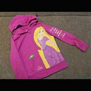 Rapunzel Disney Parks Girls M Hoodie